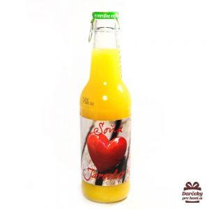 Svadobný ovocný nápoj - sklo
