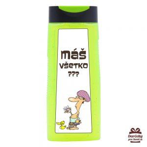 Vtipný sprchový gel